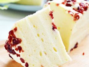 小米蔓越莓蒸蛋糕-自己在家做的簡單甜品
