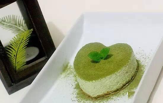[食譜] 綠茶慕斯蛋糕